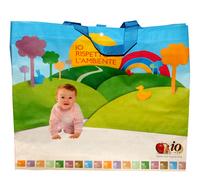Eco-friendly shopping bag folding bag fashion waterproof small handbag knitted bag baby