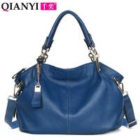 2013 first layer of cowhide genuine leather women's handbag women's bags laptop messenger bag