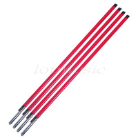 FREE SHIPPING 4pcs Red 2 Way Guitar Truss Rod,580mm Stainless Steel A3