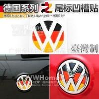 New 3D Volkswagen golf Tiguan Magotan Sagitar CC etc.Sticker Car Emblem Car tail Logo