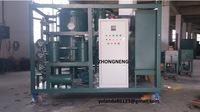 Vacuum Transformer Oil Treatment/ Transformer Oil Dehydration and Degassing System