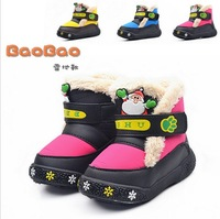 2013 Free shipping kids snow boots  winter for boy and girl boots