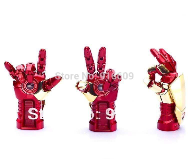 G-35 Hot Cute Avengers Iron man Gloves Cannon Fodder 4GB 8GB 16GB 32GB 64GB USB 2.0 Flash Memory Stick Drive Car/Pen/Thumb(China (Mainland))
