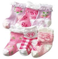 Cotton children's socks, lace small, temperament princess socks, lace socks