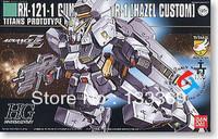 Free shipping 1/144 HGUC 056 RX-121-1 HAZEL CUSTOM Gundam Bandai Gundam