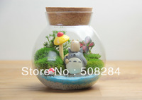 Free shpping Tea canisters glass tea caddy cork storage boxes of tea seal gcaddy storage tank flower tea tank