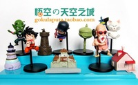 10 Pieces 5~8CM High 16th Generation Dragon Ball with Scenes&Characters Action Toys Figures WA0105