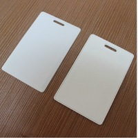 Free shipping(10 pcs) Access Control 125khz Proximity RFID Blank Writable&Readable Thick Proximity T5577/T5557 ID Card