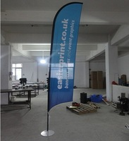 Beach flagpole / advertising flag / Flag banner making / flagpole wholesale