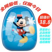 2013 Child  everta personality cartoon trolley case  eggshell trolley backpack