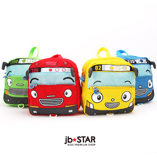 Tayo small bus car school bag baby anti-lost bag child baby backpack