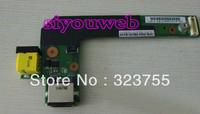 NEW for IBM Thinkpad Edge E420 E425 E520 DC-in sub Jack LAN board card 04W2083 , free shipping