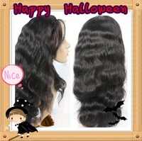 Insock!!!!Free Shipping!!! 100% Human hair Super wave 130%-150% Density 4x4 Silk Top Glueless Full Lace Wig