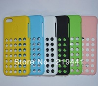 100pcs Free Shipping New Arrival Silicone Soft Case for iphone 5C Hollow design case for ipnone5C