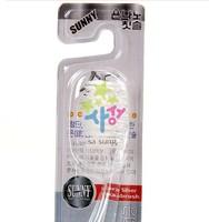 free shipping Silver crystal toothbrush for/men/women/ladies family toothbrush hot sales
