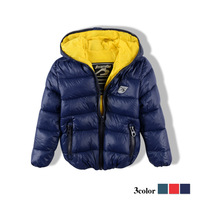 children's clothing   cotton-padded  boys girls  wadded  baby clip silk floss   child jacket   outerwear