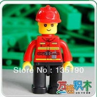 Compatible With Legao Assembles Particles Block Toys,Minifigure Small Doll,Plastic brick parts No.02-1,22pcs/lot,figure-fireman