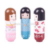 Губная помада 3PCS Cute Baby Girl Lip Balm Lipstick Doll Lip Balm Lovely #49