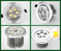 Free shipping CE&RoHS AC85-265v Surface Mounted Led Ceiling Lamp  5w Recessed Down Light 10pcs/lot