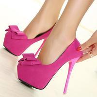 new ladies pumps. 14cm  high heels shoes.black,pink party shoes  platform pumps  princess wedding shoes hh1053