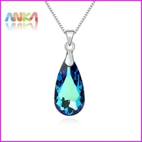 2014 Water Drop Crystal  Necklace  Made With Swarovski Elements #99936