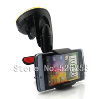 Universal Car Mount GPS Stand Holder Kits Cell Phone FOR HTC Salsa G15 C510e  free shipping