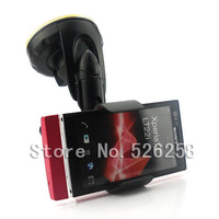 Universal Car Mount GPS Stand Holder Kits Cell Phone FOR Sony Xperia P LT22i free shipping