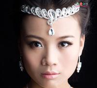 Wedding tiara crown headband Diadema Adorno Tocado Novia Strass coroa Bridal hair Corona rhinestone accessories crystal Bridal