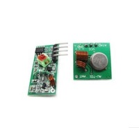 RF wireless receiver module & transmitter module board Ordinary super- regeneration 433Mhz DC5V 10pair/Lot =20pcs