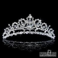 Bridal Crown Ballet bride crystal handmade bride Tiaras diademas coronas bridal accessories noiva