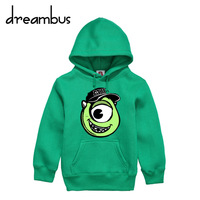 Children Pixar monsters inc Mike Wazowski hoodie geek chemistry biology physics 2013 new marvel chic clever smart new sexy