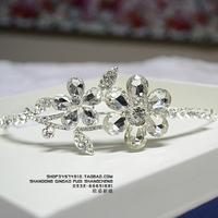 Tiaras Princess the bride Bridal Crown pearl crystal the bride wedding decoration noiva
