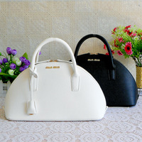 2013 women's candy color handbag, fashion black shell bag