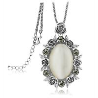 Accessories - eye necklace fashion design vintage long necklace female