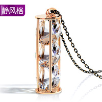 Long necklace design crystal accessories all-match fashion necklace long necklace