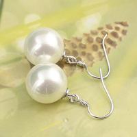 925 silver pearl shell bead pearl earrings drop earring pearl box