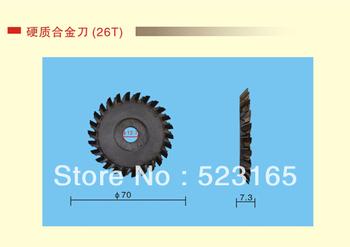 70*7.3*12.7  26T hard alloy Key Cutter Blade For Key Cutting Machines Locksmith Supplies