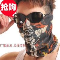 Sports ride bandanas variety magic seamless scarf muffler scarf bandanas skull face mask high-elastic breathable
