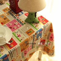 hot free shipping 2013 new Cotton / natural / wallpaper / cover cloth / table cloth / tablecloth multiple sizes available
