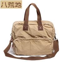 1210 messenger bag handbag backpack large capacity travel bag canvas shoulder messenger bag one male