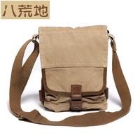 Eight wasteland vintage nostalgic canvas bag shoulder bag messenger bag man bag  small bag