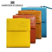 HOT! Women Wallets 100% Genuine Leather 2014 Ladies Purses Short Purse Brand Designer Small Wallet
