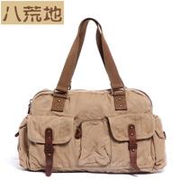 shoulder bag casual canvas bag travel bag big 0503