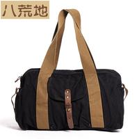 vintage canvas bag male shoulder bag casual backpack man bag big 1704