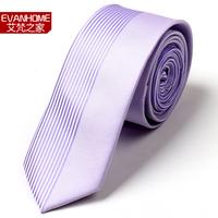 High Quality New 2015 Brands Gravata Casual Men's Ties Purple Irregular Gravata Slim Tie  Men Necktie Gift Box Free Delivery