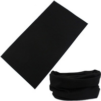 Black elastic seamless ride magicaf magic bandanas sunscreen muffler scarf face mask broadened
