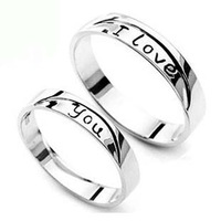 Lovers ring s925 pure silver jewelry ring you gift memorial
