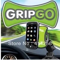Free Shipping 500pcs/lot 2013 Hot GripGo Universal GPS Car Holder Mobile Phone Mount Holder Car Holder Grip Go Holder COLOR BOX