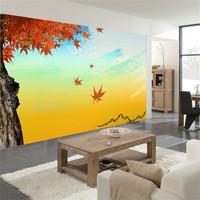 Mural tv wall wallpaper modern