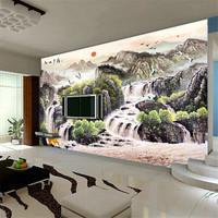 Mural wallpaper tv wall background wall mural non-woven